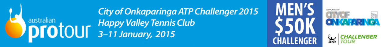 Coverage of 2015 City of Onkaparinga ATP Challenger Tennis Tournament