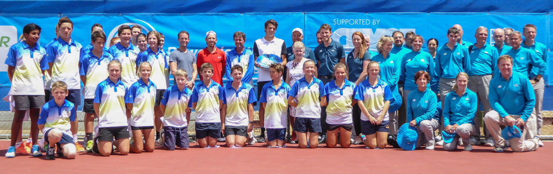 City of Onkaparinga ATP Challenger, Singles Trophy Presentation, Group Photo